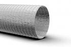 Воздуховод гибкий неизолированный D 160 мм (10м)